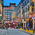 East Fourth Street In Cleveland by Frozen in Time Fine Art Photography