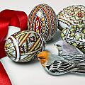 Easter Eggs Do With Birds by Enrico Mariotti