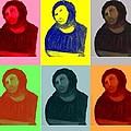 Ecce Homo - Warhol Style by Sam Mart