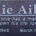 Eddie Aikau Plaque by Leigh Anne Meeks