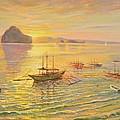 El Nido Sunrise by Yinguo Huang
