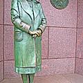 Eleanor Roosevelt -- 1 by Cora Wandel