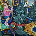 Elephant Ride by Jill Ciccone Pike
