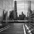 Empty Sky Memorial And The Freedom Tower by Susan Candelario