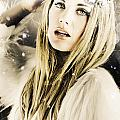 Enchanting Snow Princess by Jorgo Photography - Wall Art Gallery