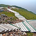 End Of Skyline Trail In Cape Breton Highlands Np-ns by Ruth Hager