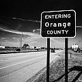 Entering Orange County On The Us 192 Highway Near Orlando Florida Usa by Joe Fox