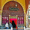 Entry To Mevlana Mausoleum In Konya-turkey  by Ruth Hager