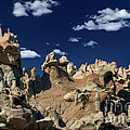 Eroded Sandstone Formations Fantasy Canyon Utah by Dave Welling