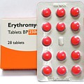 Erythromycin Antibiotic Drug by Dr P. Marazzi/science Photo Library