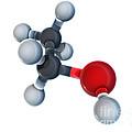 Ethanol Molecular Model by Evan Oto