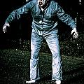 Evil Dead Horror Zombie Walking Undead In Cemetery by Jorgo Photography - Wall Art Gallery