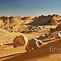 Expressive Landscape With Mountains In Egyptian Desert  by Juergen Ritterbach