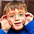 Face Paint by Tom Gowanlock