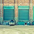 Factory Doors by Tom Gowanlock