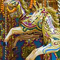 Fairground Carousel by Lee Avison