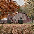 Fall Barn by Robert Camp