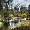 Fall Creek by David B Kawchak Custom Classic Photography