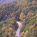 Fall Drive In The Smokies by Dan Sproul
