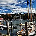 Fall In The Harbor by Elvis Vaughn