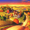 Fall on the Farm  by Robin Moline