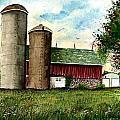 Family Farm by Steven Schultz