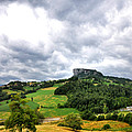 famous Bismantova rock in the north of Italy by Eddy Galeotti
