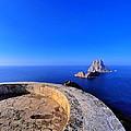 Famous Tower Of Savinar On Ibiza Island by Karol Kozlowski