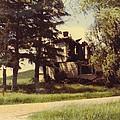 Farmhouse Landscape by Robert Floyd