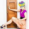 Fashion Police Blocking Doorway by Jorgo Photography - Wall Art Gallery