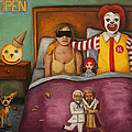 Fast Food Nightmare by Leah Saulnier The Painting Maniac