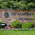 Fbi Academy Quantico by Sennie Pierson