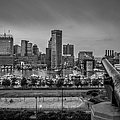 Federal Hill In Baltimore Maryland by Susan Candelario