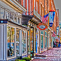 Federal Hill Storefronts by William Norton