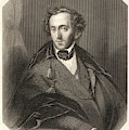 Felix Mendelssohn  German Composer by Mary Evans Picture Library
