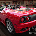 Ferrari 360 Spider by David B Kawchak Custom Classic Photography