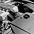 Ferrari 599 Gtb Engine  by Jill Reger