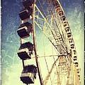 Ferris Wheel In Paris by Marianna Mills
