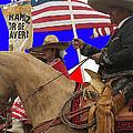 Film Homage Ride Vaquero 1953 1 Hispanic Riders Rodeo Parade Tucson Az 2002-2008 by David Lee Guss