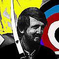 Film Homage The Archers Collage Tom Harmon Aberdeen South Dakota 1965-2008 by David Lee Guss