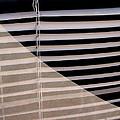 Film Noir Double Indemnity 2 1944 Broken Glass Window Venetian Blinds Casa Grande Arizona 2004 by David Lee Guss