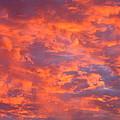 Film Noir Homage Leave Her To Heaven Number 1 Fiery Clouds Casa Grande Arizona 2005 by David Lee Guss