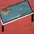 Film Noir Phil Carlson The Phenix City Story 1955 Bar Wall Pool Table Eloy Arizona 2005 by David Lee Guss