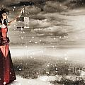 Fine Art Photo Of A Beautiful Winter Fashion Woman by Jorgo Photography - Wall Art Gallery