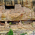 Fire Temple On Chapin Mesa Top Loop Road In Mesa Verde National Park-colorado  by Ruth Hager