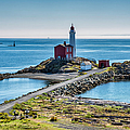 Fisgard Lighthouse, Victoria, Vancouver by Witold Skrypczak