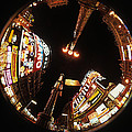 Fish Eye Photo Of Picadilly Circus by Carl Purcell
