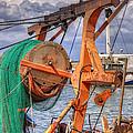 Fishing Boat by Uri Baruch