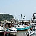 Fishing Boats by Cheryl Baxter