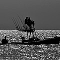 Fishing Friends by David Lee Thompson